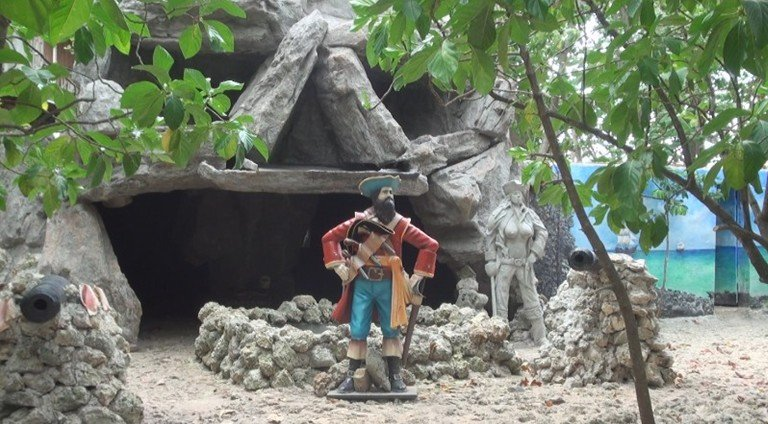 Resultado de imagen para cueva de morgan san andres