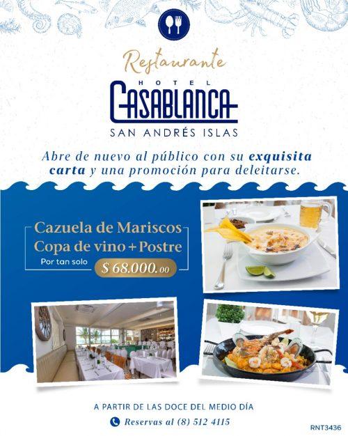 Hotel Casablanca Restaurante